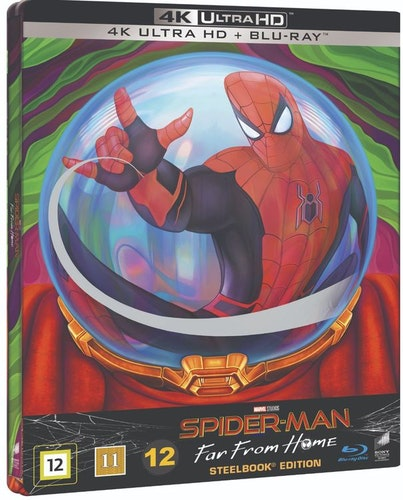 Spider-Man: Far from Home Steelbook 4K UHD bluray
