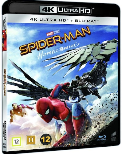 SPIDER-MAN: HOMECOMING 4K UHD bluray