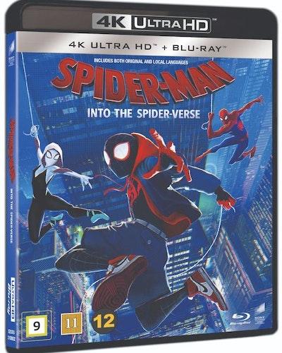 Spider-Man: Into the Spider-Verse 4K UHD bluray
