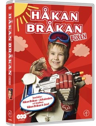 Håkan Bråkan Boxen Julkalendern + Filmen DVD