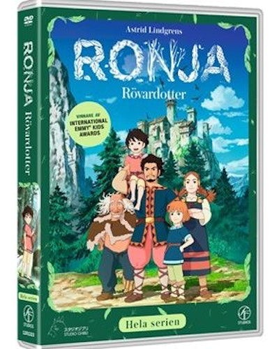 Ronja Rövardotter TV-serien Box 6-disc DVD