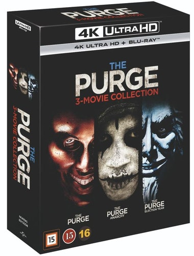 The Purge 1-3 box 4K UHD bluray