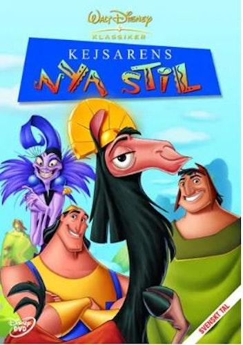 Disneyklassiker 39 Kejsarens nya stil DVD