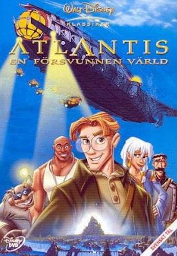 Disneyklassiker 40 Atlantis en försvunnen värld DVD