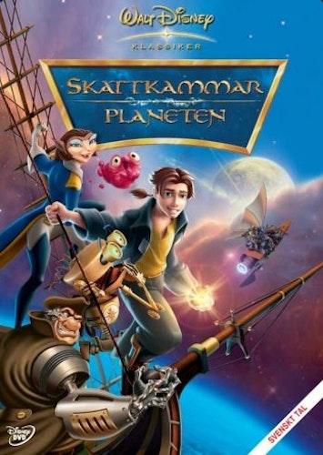 Disneyklassiker 42 Skattkammarplaneten DVD