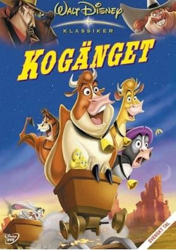 Disneyklassiker 44 Kogänget DVD