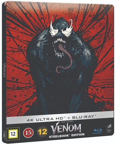 Venom Steelbook 4K UHD bluray