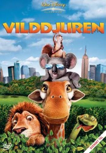 Disneyklassiker 46 Vilddjuren DVD