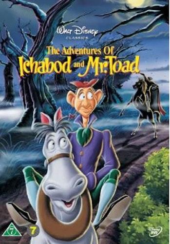 Disneyklassiker 11 Adventures Of Ichabod & Mr Toad DVD