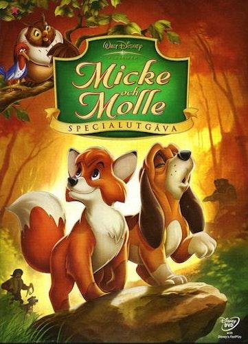 Disneyklassiker 24 Micke och Molle Specialutgåva DVD
