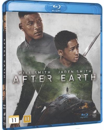 After earth (bluray, svensk utgåva)