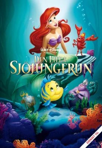 Disneyklassiker 28 Den lilla sjöjungfrun DVD
