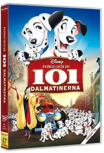 Disneyklassiker 17 Pongo och de 101 dalmatinerna DVD