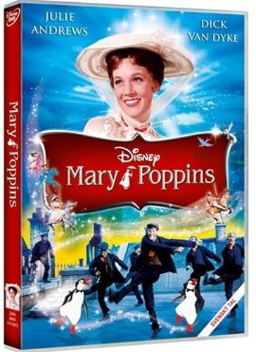 Disneys Mary Poppins med Julie Andrews DVD