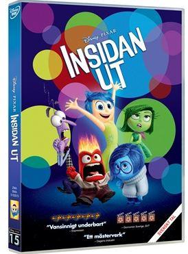 Disney Pixar Klassiker 15 Insidan ut DVD