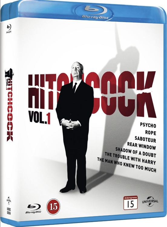 Alfred Hitchcok collection Box 1 (bluray)
