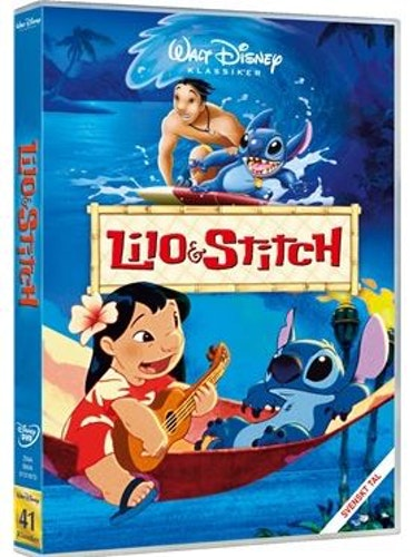 Disneyklassiker 41 Lilo och Stitch DVD