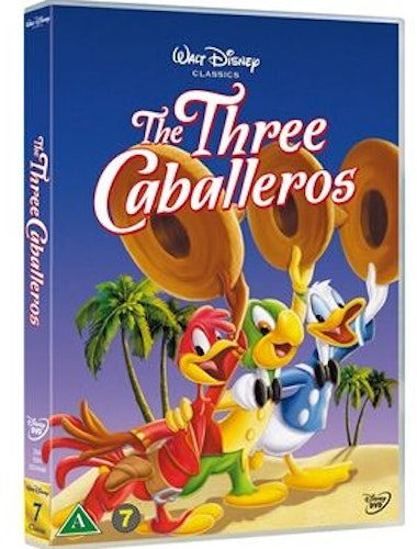 Disneyklassiker 7 The Three Caballeros DVD