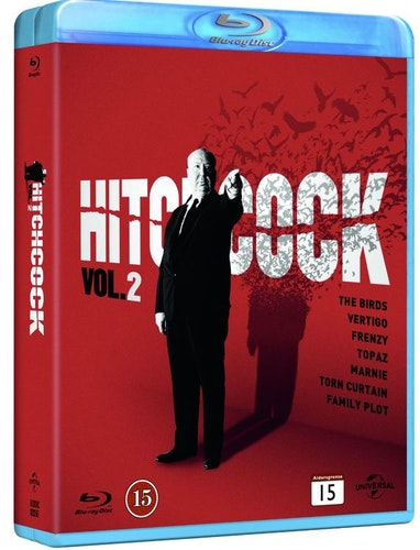 Alfred Hitchcok collection Box 2 (bluray)