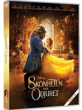 Disney Skönheten och Odjuret DVD