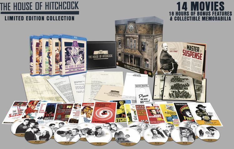 Alfred Hitchcock Collection Limited Edition Blu-Ray (import)