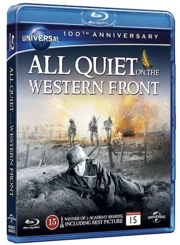 På västfronten intet nytt/all quiet on the western front (bluray)