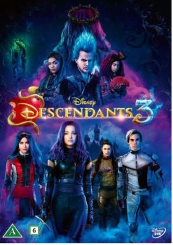 Disneys Descendants 3  DVD