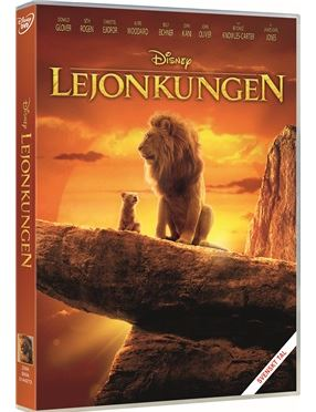 Disneys Lejonkungen DVD 2019