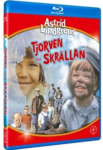 Astrid Lindgrens Tjorven och Skrållan bluray