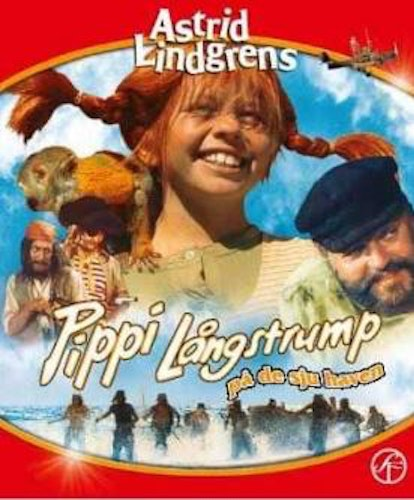 Astrid Lindgrens Pippi på de sju haven bluray