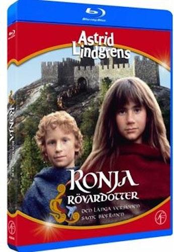 Astrid Lindgrens Ronja Rövardotter (TV-serien + biofilmen) bluray