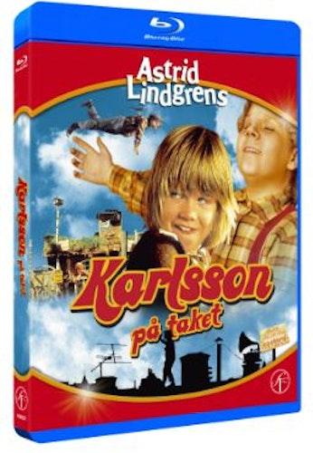 Astrid Lindgrens Karlsson på taket bluray