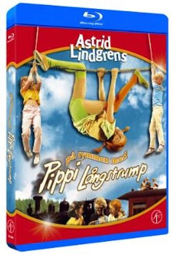 Astrid Lindgrens På rymmen med Pippi Långstrump bluray