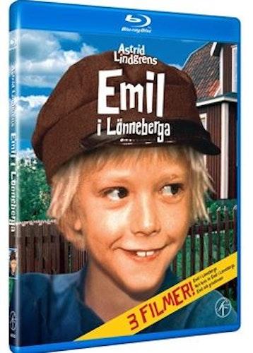 Astrid Lindgrens Emil i Lönneberga - 50 år jubileumsbox bluray
