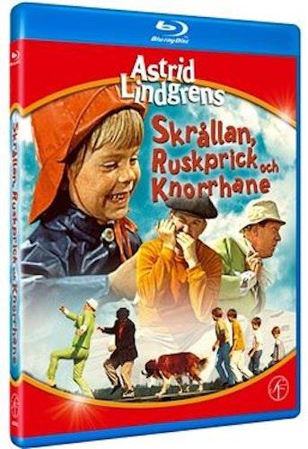 Astrid Lindgrens Skrållan, Ruskprick och Knorrhane bluray