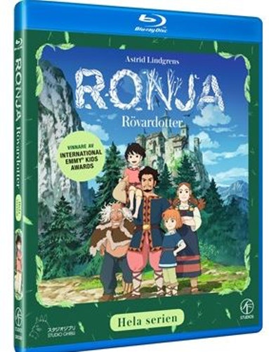 Astrid Lindgrens Ronja Rövardotter TV-serien Box (3-disc) bluray