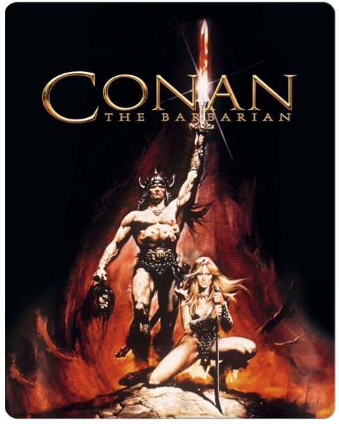 Conan the Barbarian - Steelbook bluray (import)