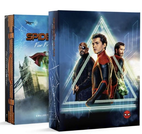 Spider-Man: Far From Home - 4K Ultra HD (Includes 2D Blu-ray) Collector's Edition Steelbook (import)