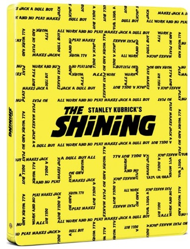 The Shining – 4K Ultra HD Steelbook (Includes 2D Blu-ray) import