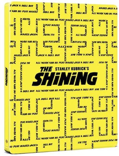 The Shining – 4K Ultra HD Steelbook (Includes 2D Blu-ray) import