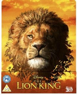 The Lion King (2019) - 3D Steelbook (Includes Blu-Ray) import
