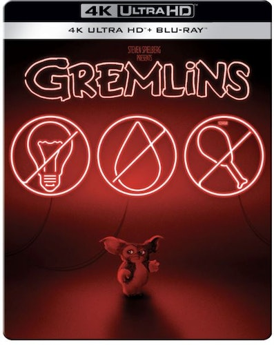 Gremlins - 4K Ultra HD (Includes 2D Blu-ray) Steelbook (import)