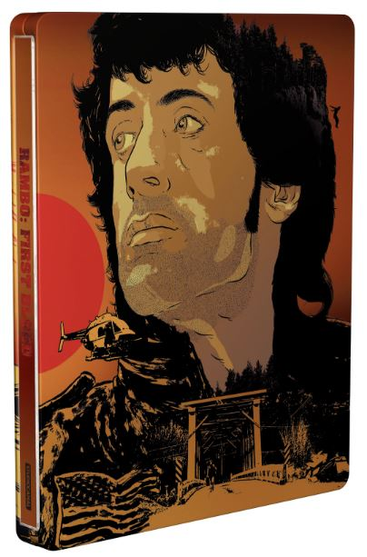 Rambo: First Blood - (Blu-Ray & 4K Ultra HD) - Steelbook (import)