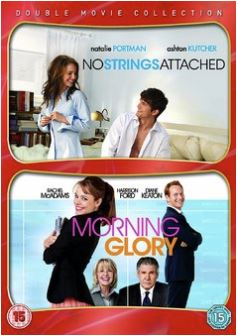 No Strings Attached + Morning Glory DVD (import med svensk text)