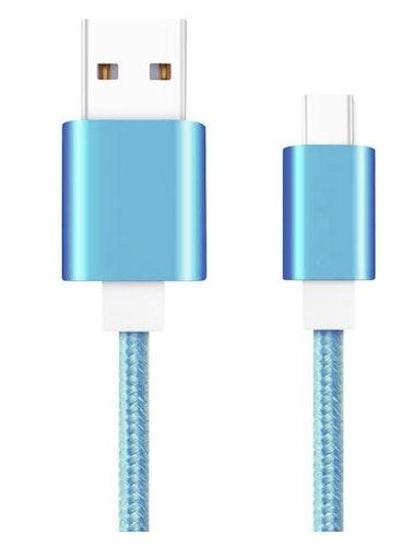 2m USB-C-laddningskabel - Android olika färger