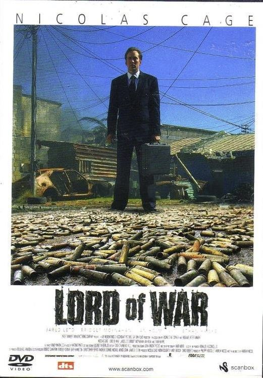 Lord of war DVD Nicolas Cage (beg) i fint skick