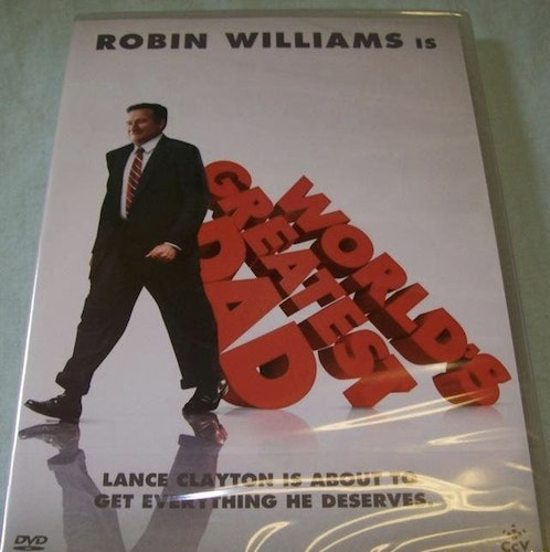 WORLDS GREATEST DAD - ROBIN WILLIAMS DVD