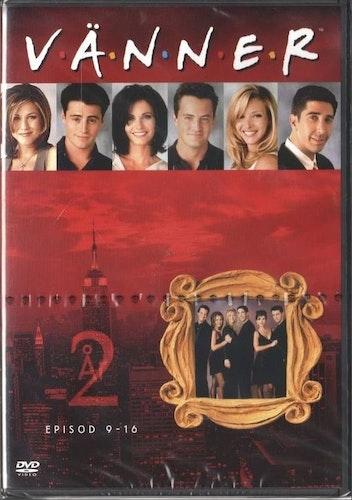 Vänner säsong 2 DVD