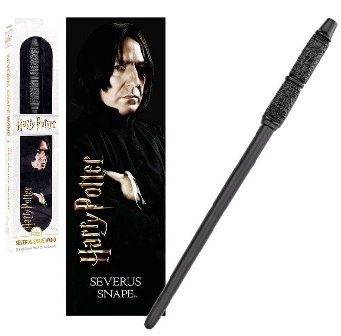 Harry Potter Severus Snape wand + 3D bookmark
