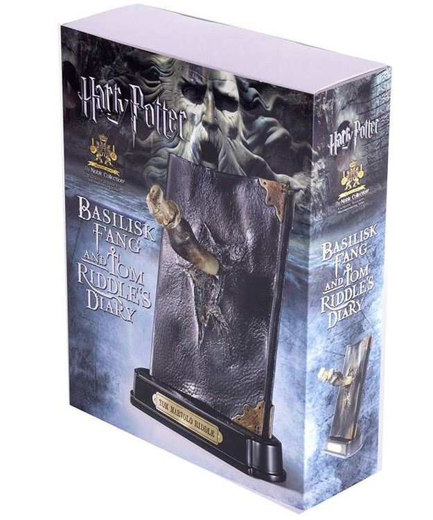 Harry Potter Basilisk Fang & tom Riddle Diary filmreplika